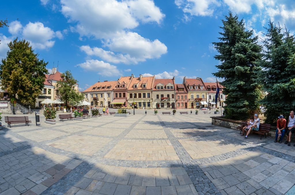 sandomierz, poland, the old town