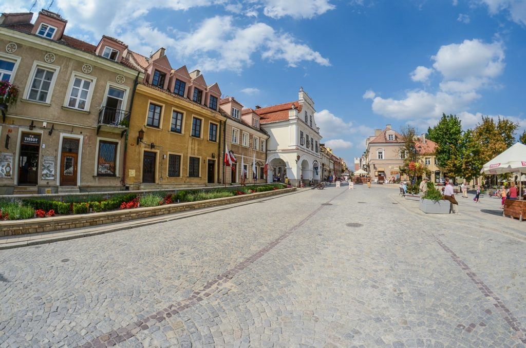sandomierz, poland, the old town
